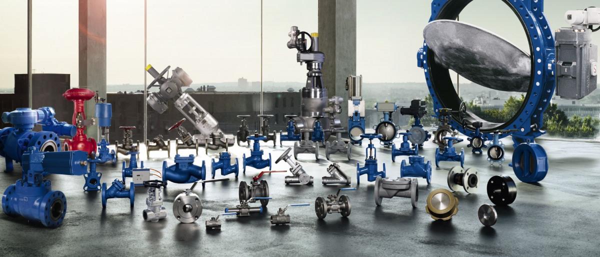 The large range of KSB valves