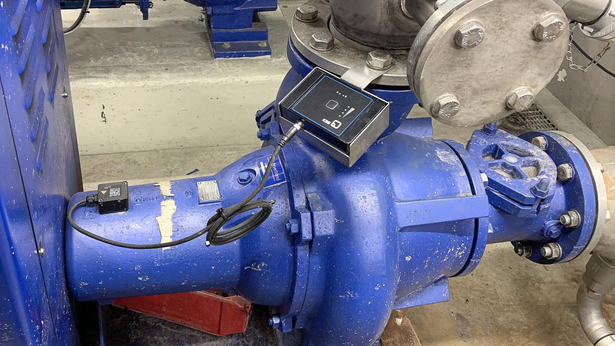 KSB Guard mounted on a Sewatec pump
