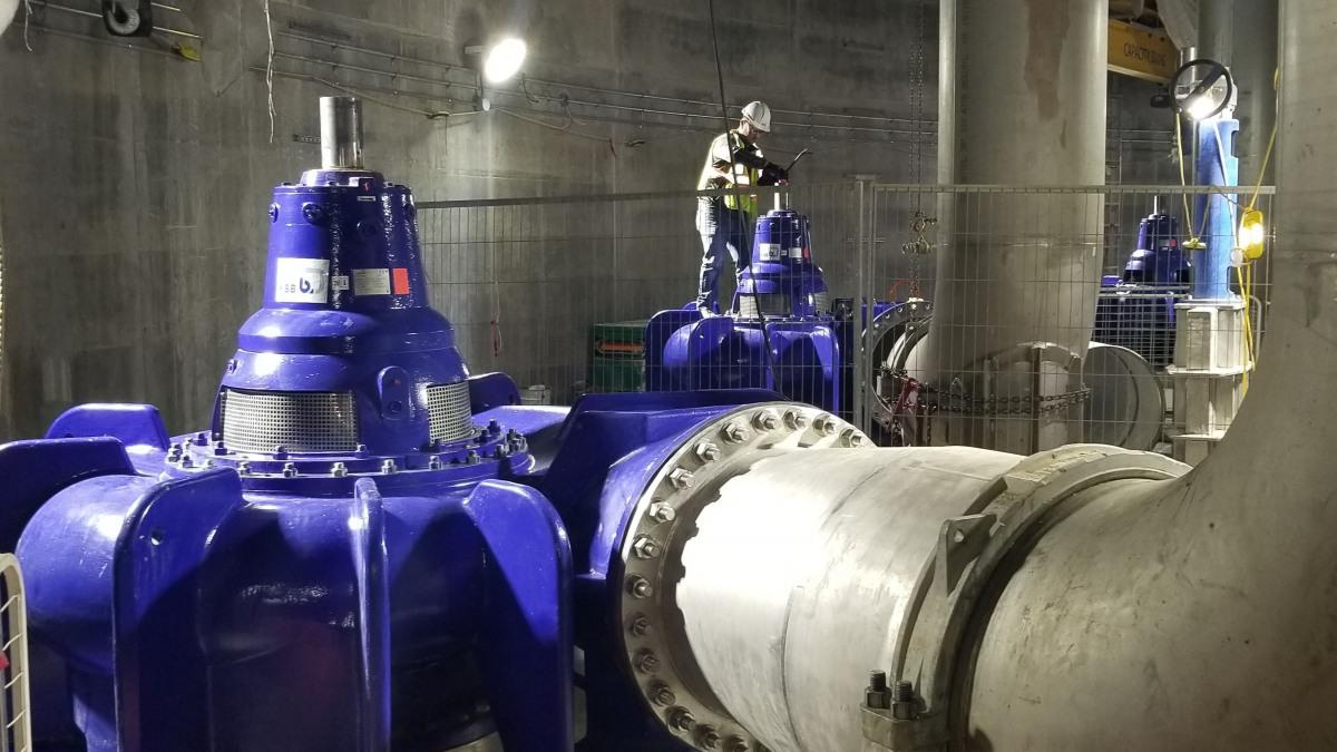 KSB Sewatec pumps contribute to Lake Ontario clean-up