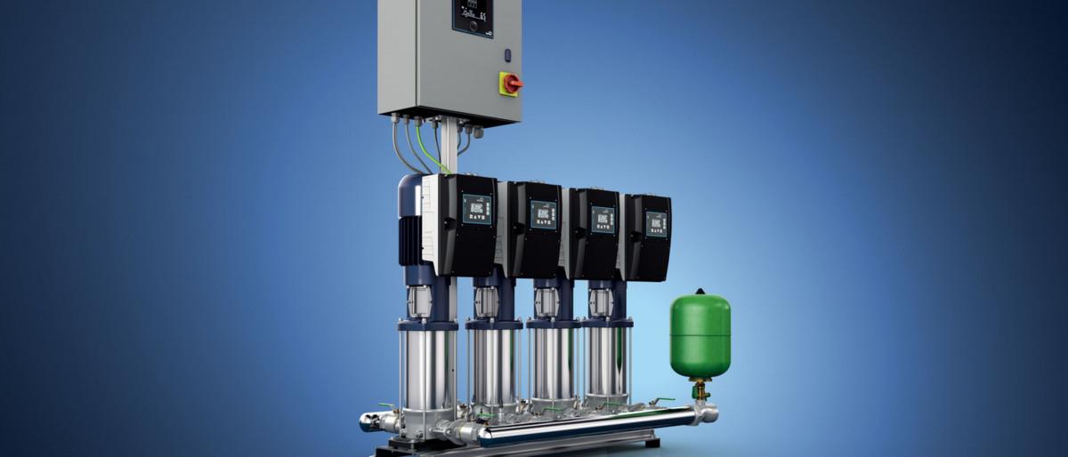 Druckerhöhungsanlage KSB Delta Primo