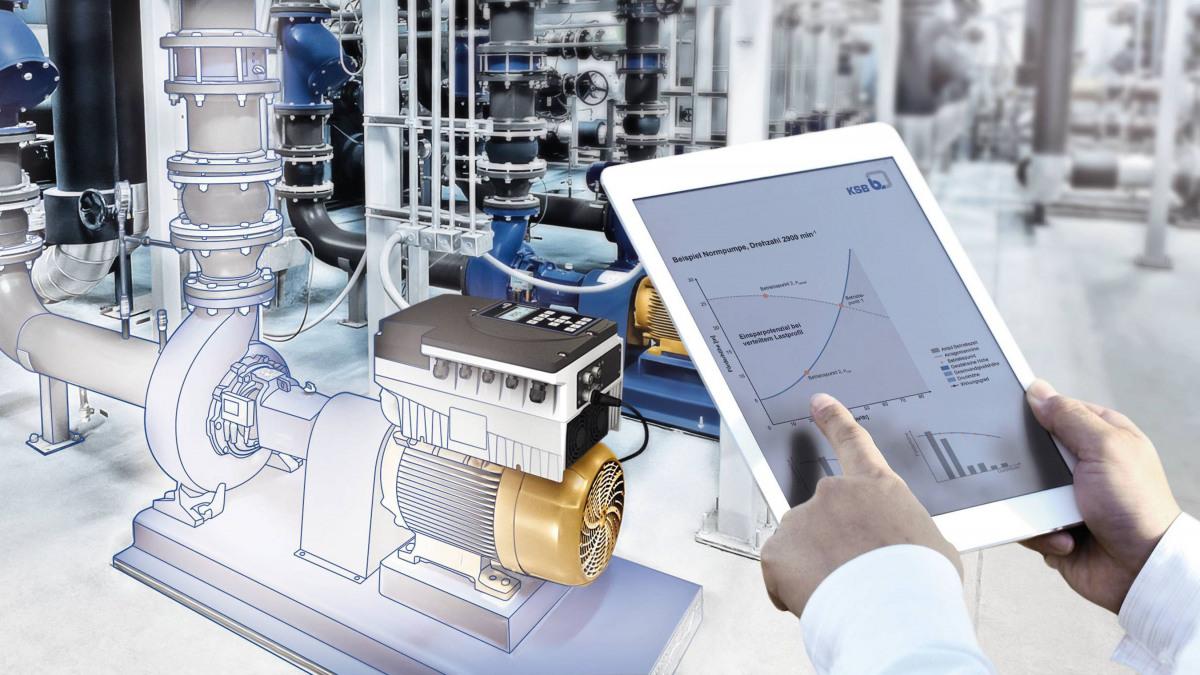 Energieeffizienzkonzept FluidFuture by KSB