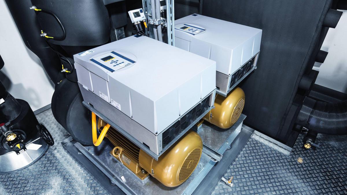 Eta-Pumpen im SAP-Rechenzentrum