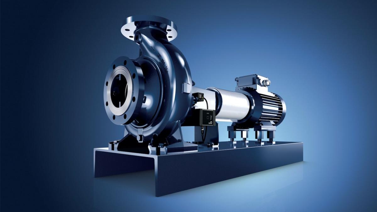 Die Etanorm von KSB ist die meistverkaufte Wassernormpumpe der Welt