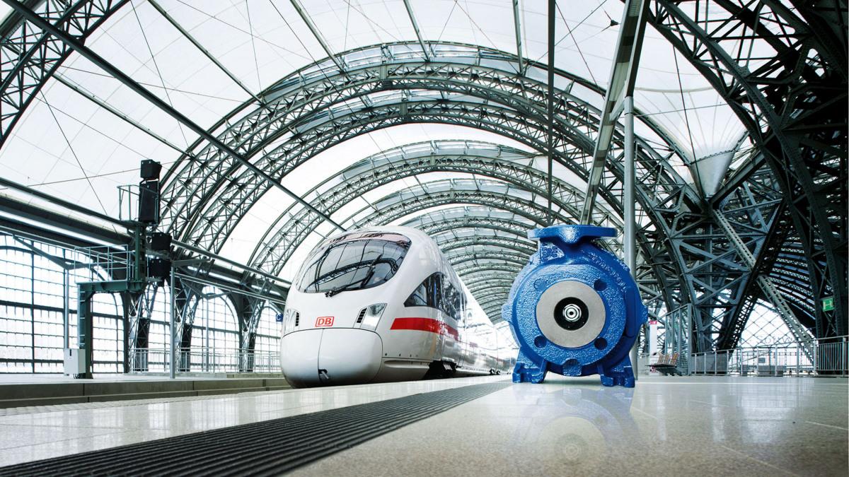 Die Etaseco RVP spielt eine wichtige Rolle bei der Kühlung der Leistungselektronik in Schnell- und Regionalzügen