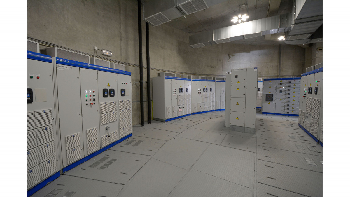 Control cabinets for control equipment