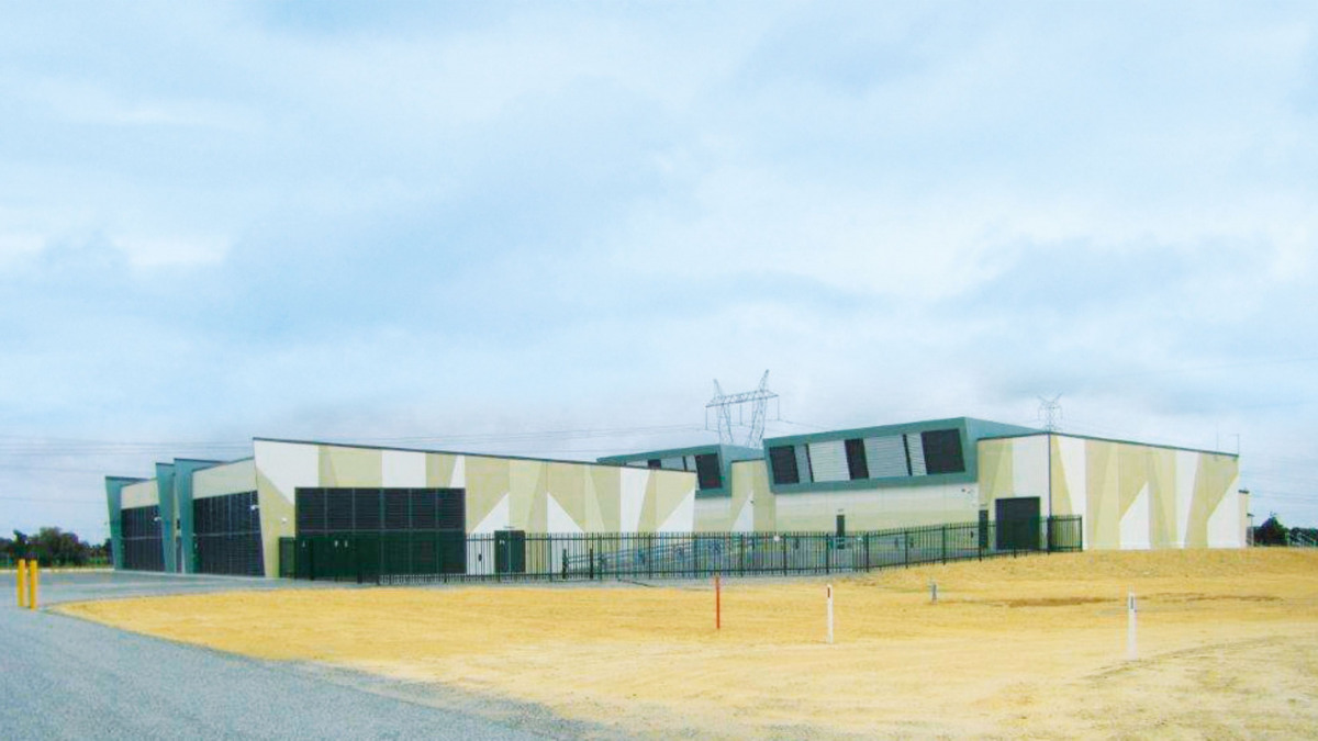 Drinking water pump station equipped with KSB pumps in Ravenswood, Australia