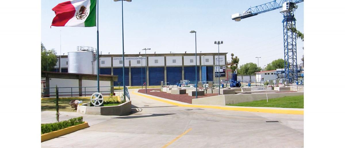 The La Caldera pumping station has a capacity of 40 m3/s.