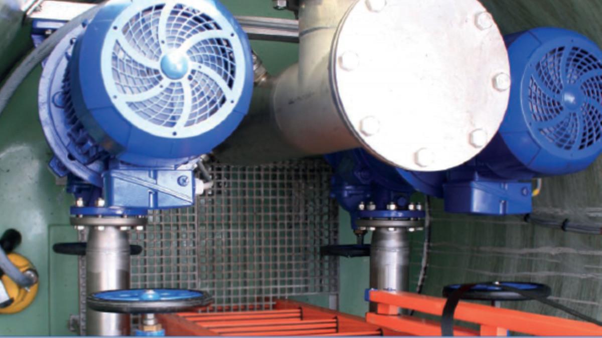 KSB SuPremE® IE4 motors in operation at the Philharmonie de Paris