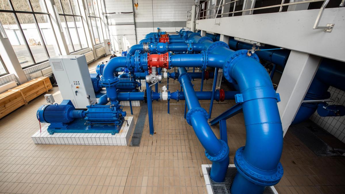 Informazioni dettagliate sull'interno dell'impianto idrico