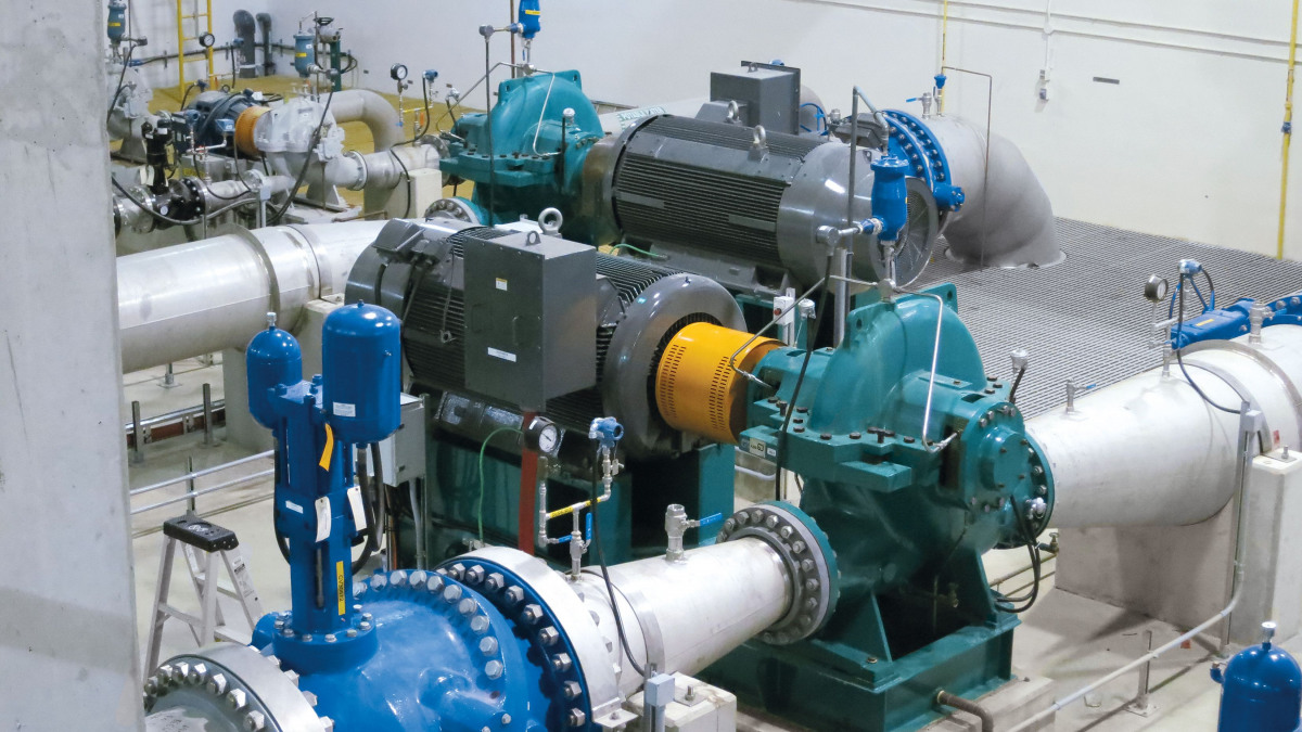 RDLO single-stage pumps with axially-split volute casing