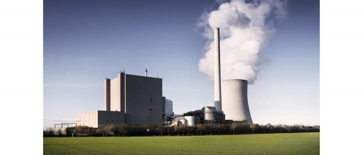 Centrale électrique à combustible fossile