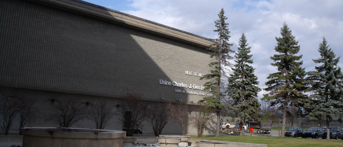 L'usine Charles-J.-Des Baillets à Montréal