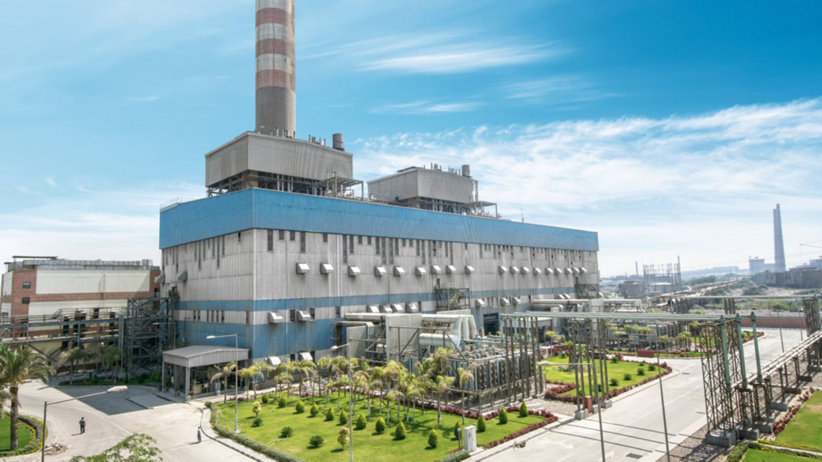 Centrale thermique d'El-Tebbin