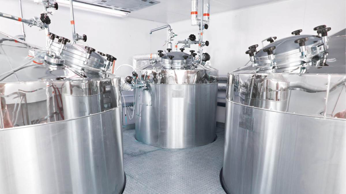 Hygienic pumps for pharmaceutical production