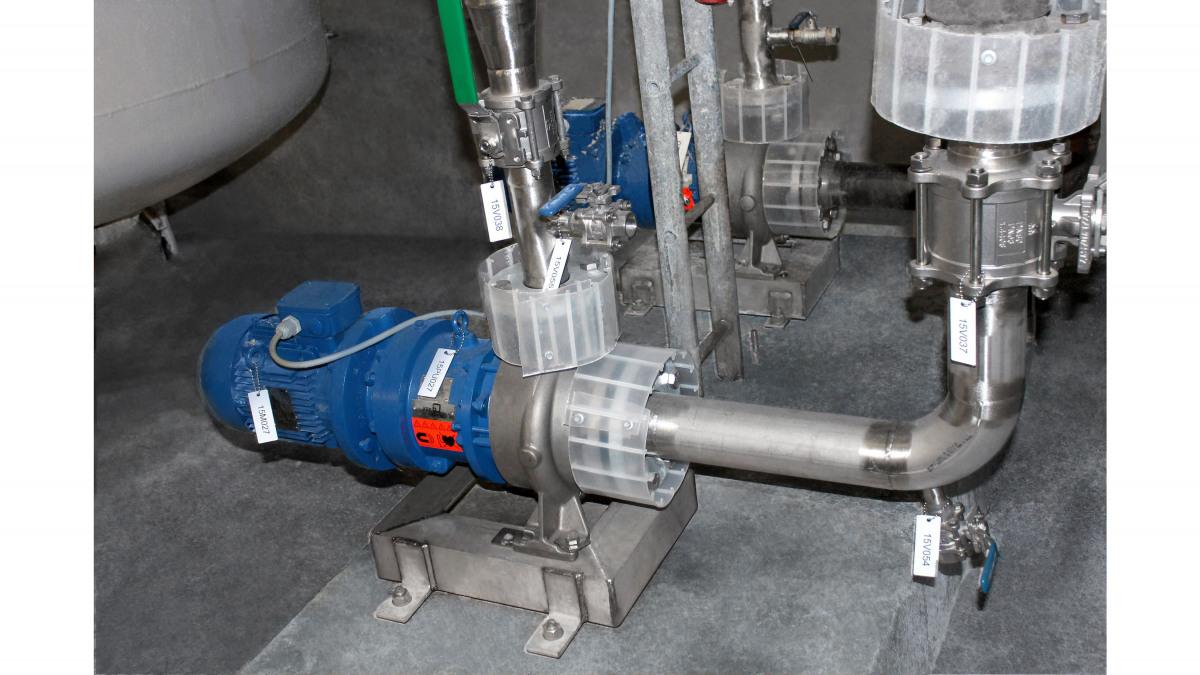 KSB's Magnochem handles the pumping of the sodium hydroxide and soda lye.