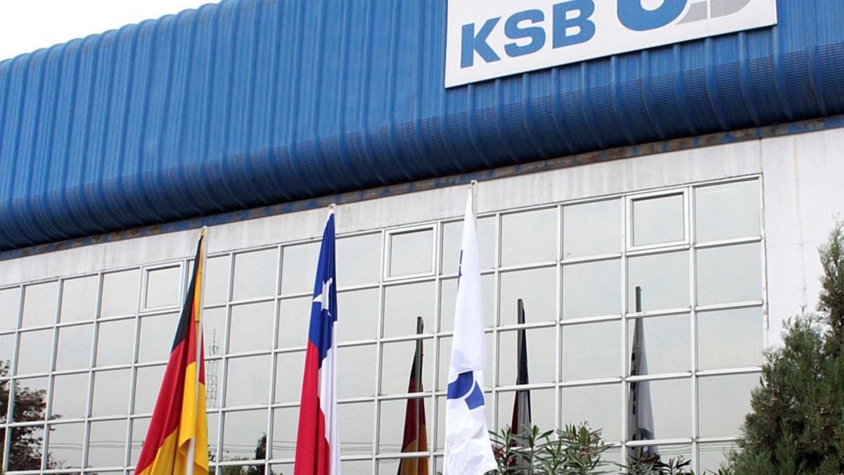 KSB Headquarter in Santiago, outside view