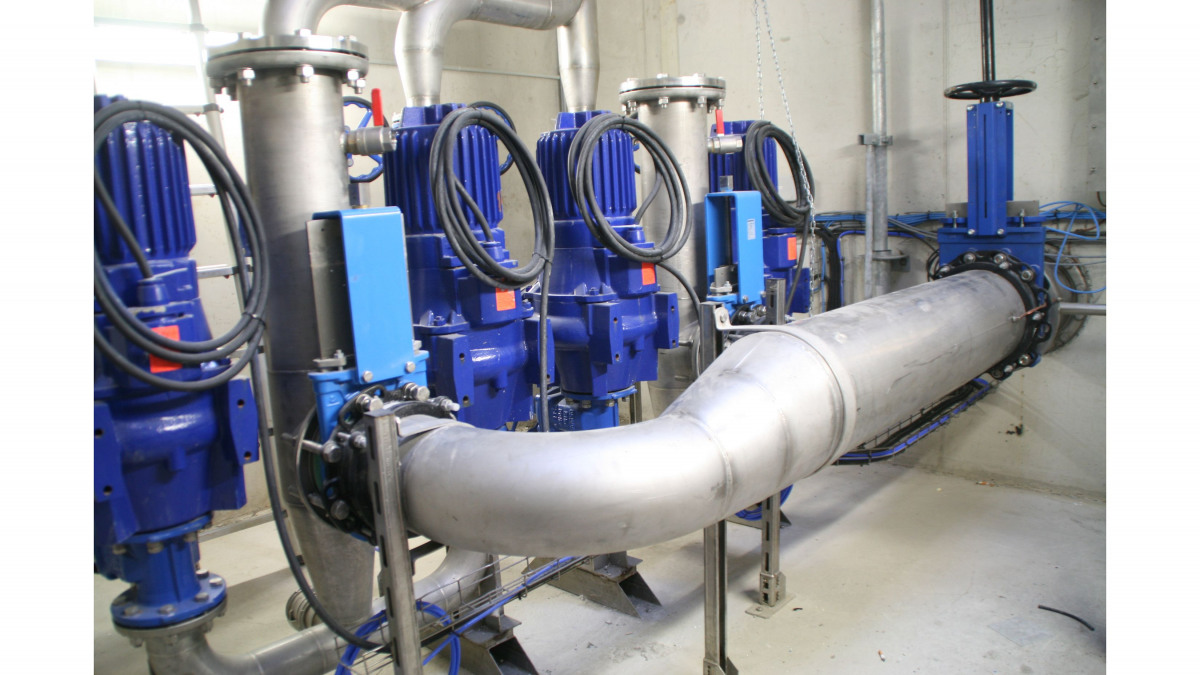 Amarex KRT pumps at Mont St Michel pumping station