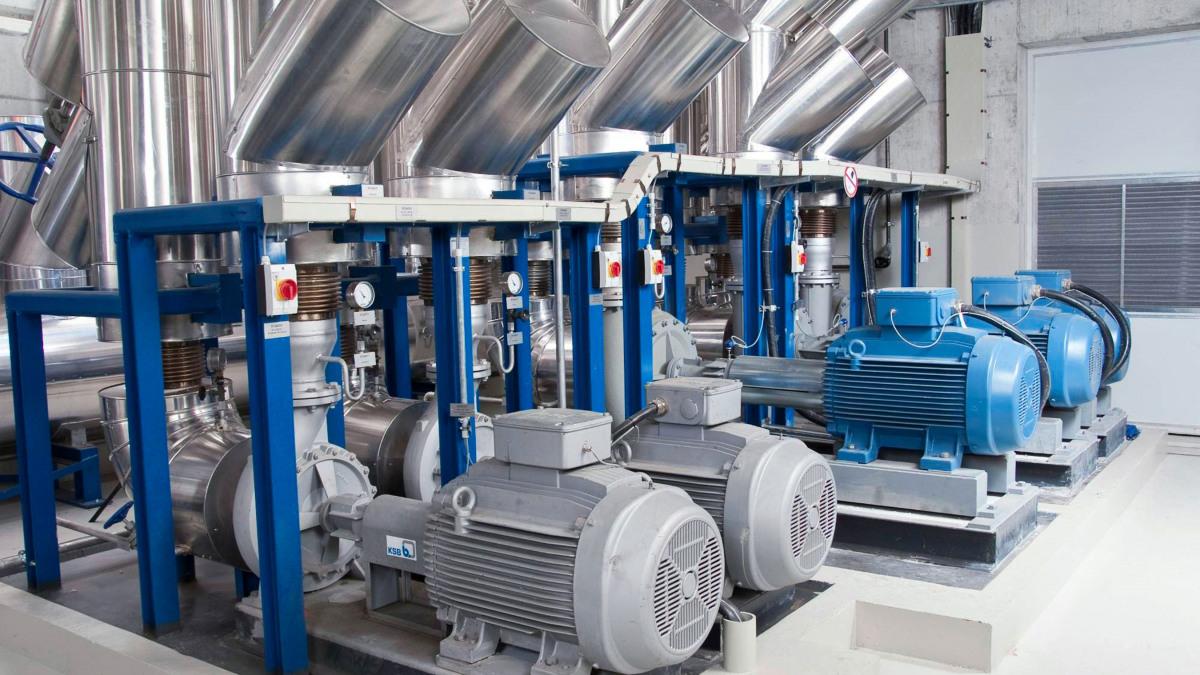 KSB Etanorm SYT heat transfer fluid pump