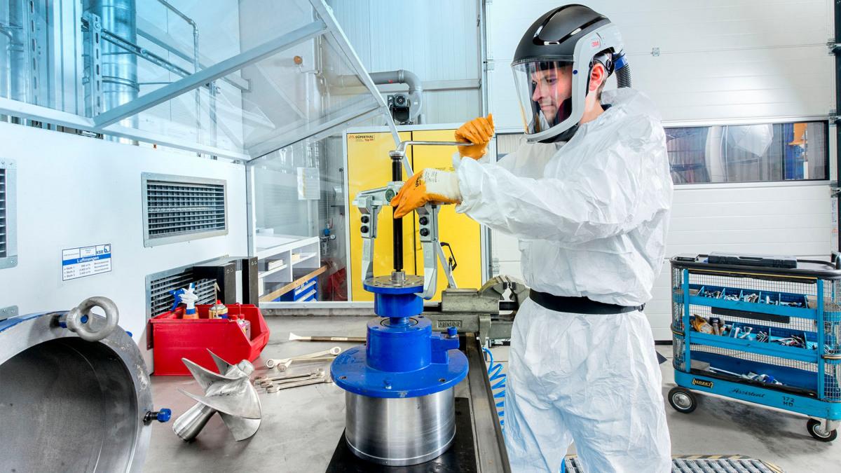 KSB I Chemiearbeitsplatz Pegnitz