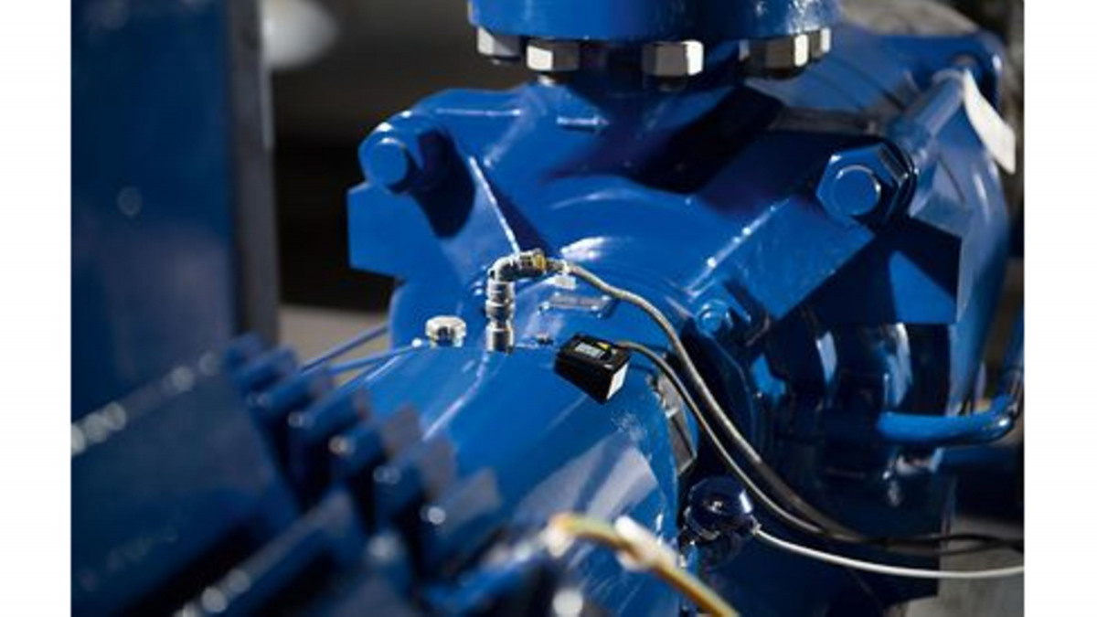 Multiple KSB pumps and pipes