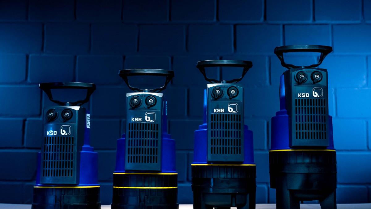 Ny generation dränkbara pumpar