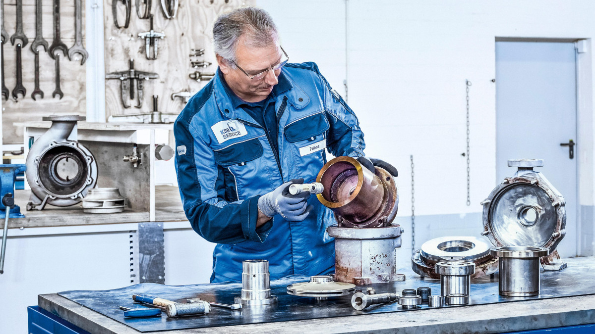 Servicing of explosion-proof pumps? Make sure you ask the professionals!