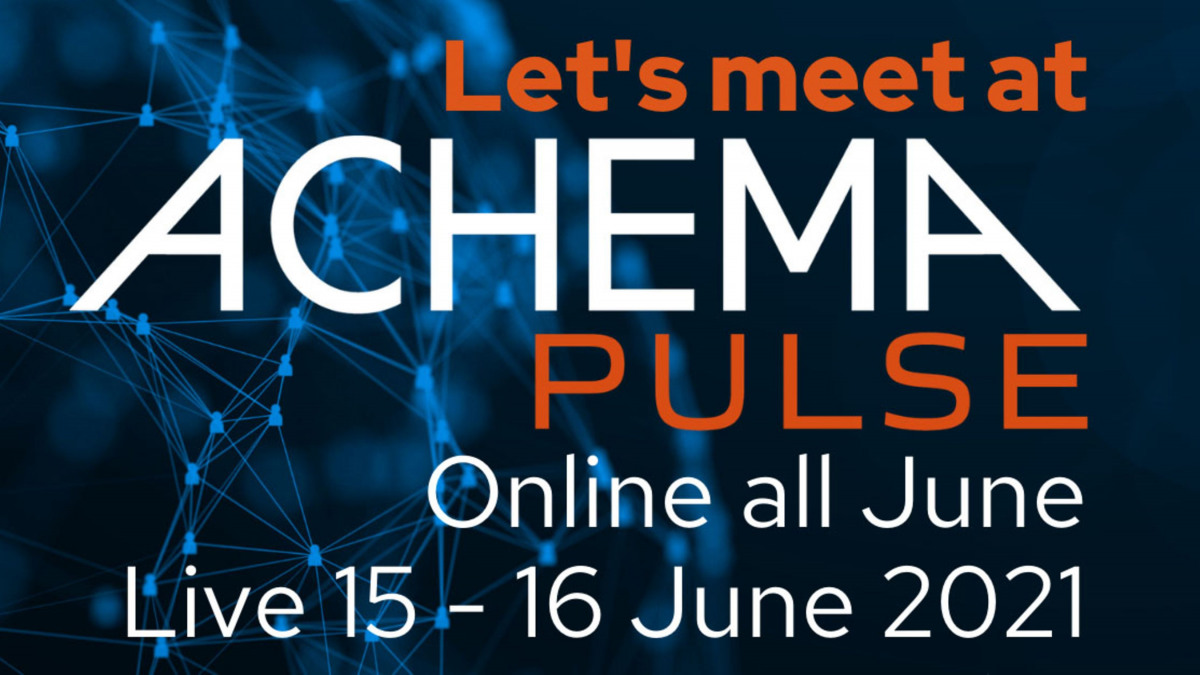Let's meet at ACHEMA Pulse