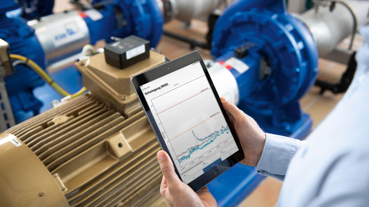 KSB Guard erlaubt smartes Pumpen Monitoring.