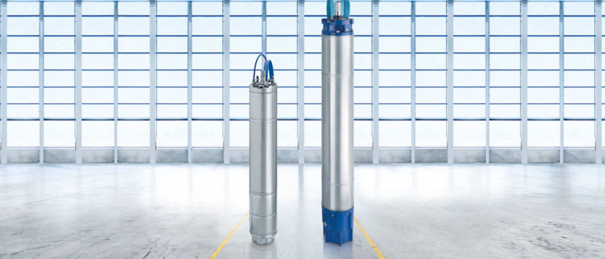 UMA-S: The high-efficiency submersible motor for submersible borehole pumps