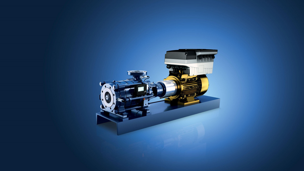 KSB Multitec pump - versatile high-pressure segmented casing pump for high pressures.