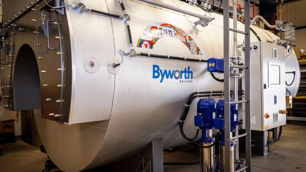 KSB Movitec pumps used on Byworth Boilers