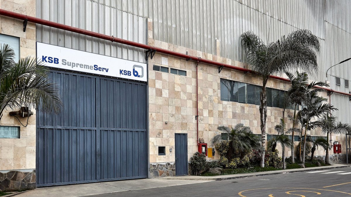 KSB Headquarter in Lima - Perú, outside view