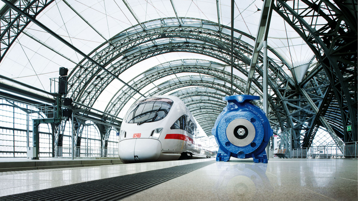 Etaseco RVP plays a key role in cooling the power electronics in high-speed and regional trains.