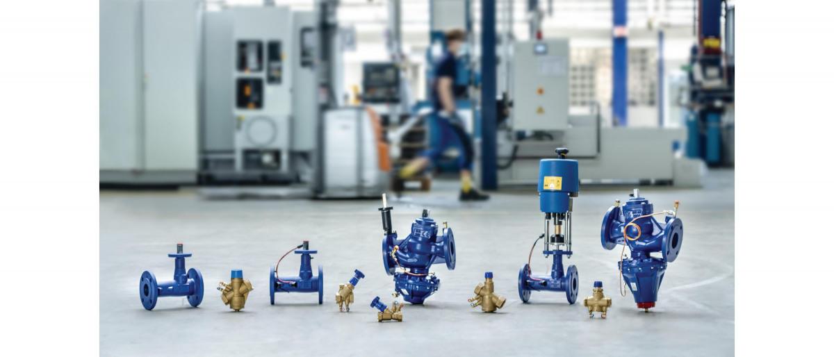 Strangregulierventile der BOA-Control-Familie für den hydraulischen Abgleich