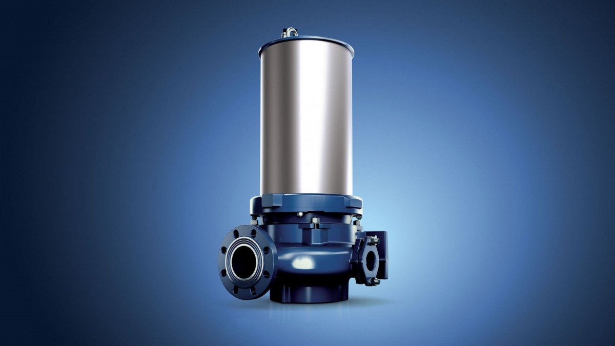 Amarex – The new waste water pump. Efficient and non-clogging.