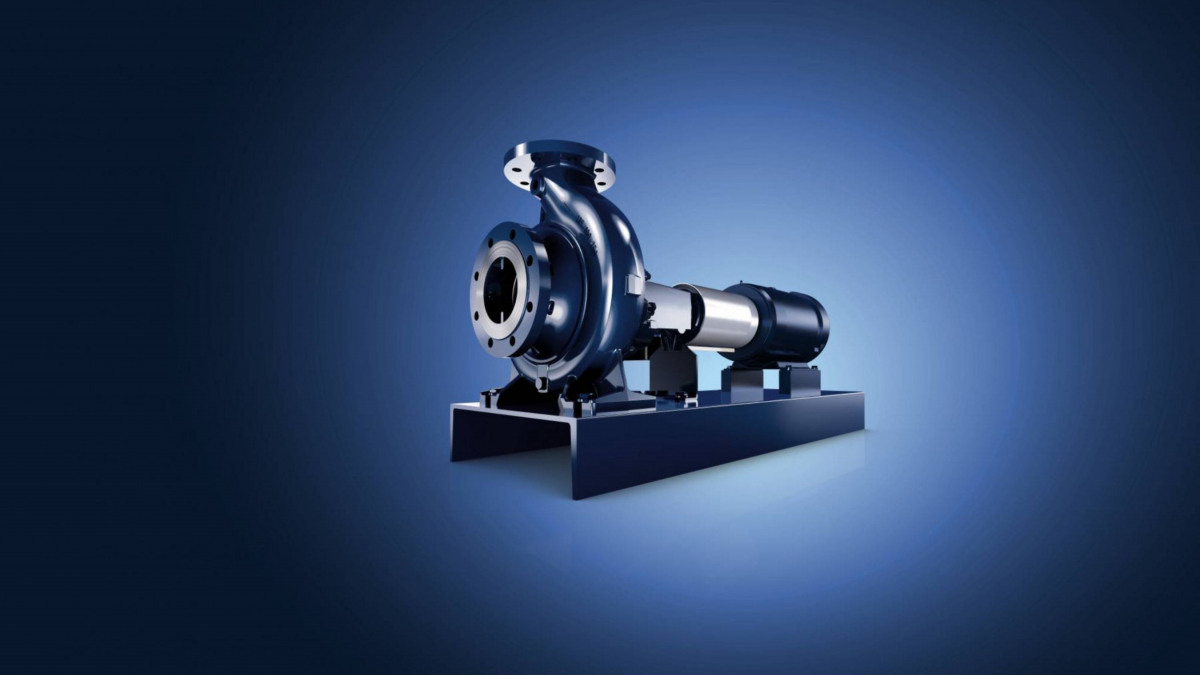 Etanorm - the world's best-selling standardised water pump