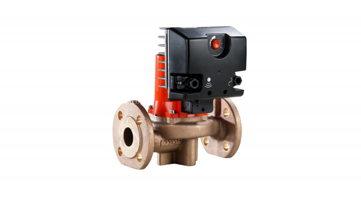 KSB Zirkulationspumpe Rio Eco Therm N 40-120 S mit Flanschanschluss und Elektromotor