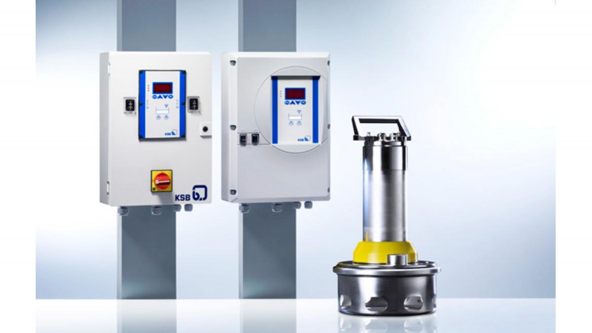 KSB-Pumpensteuerungen LevelControl Basic 1 und 2