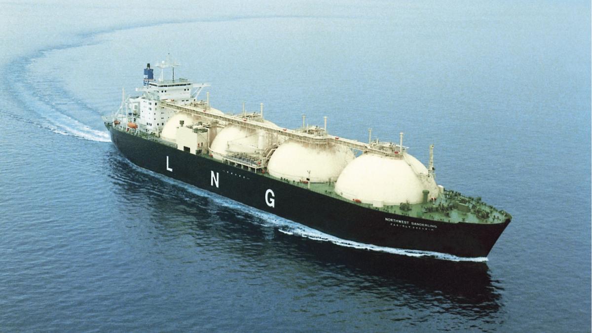 KSB in der Schifbauindustrie: Ein Tanker auf hoher See.