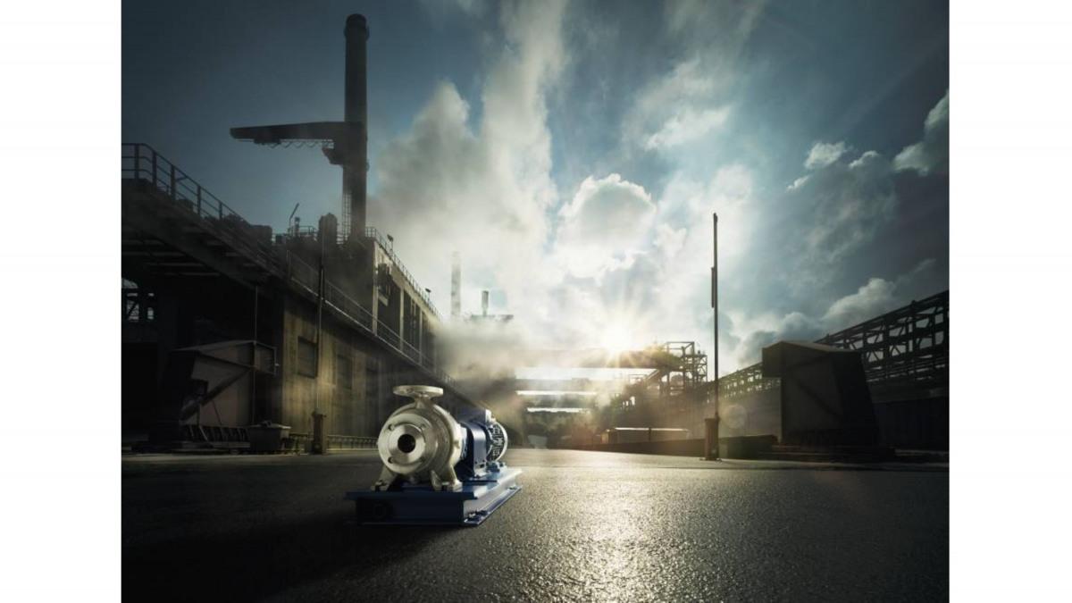 Die KSB Pumpe MegaCPK kommt vor allem in der Industrietechnik zum Einsatz.