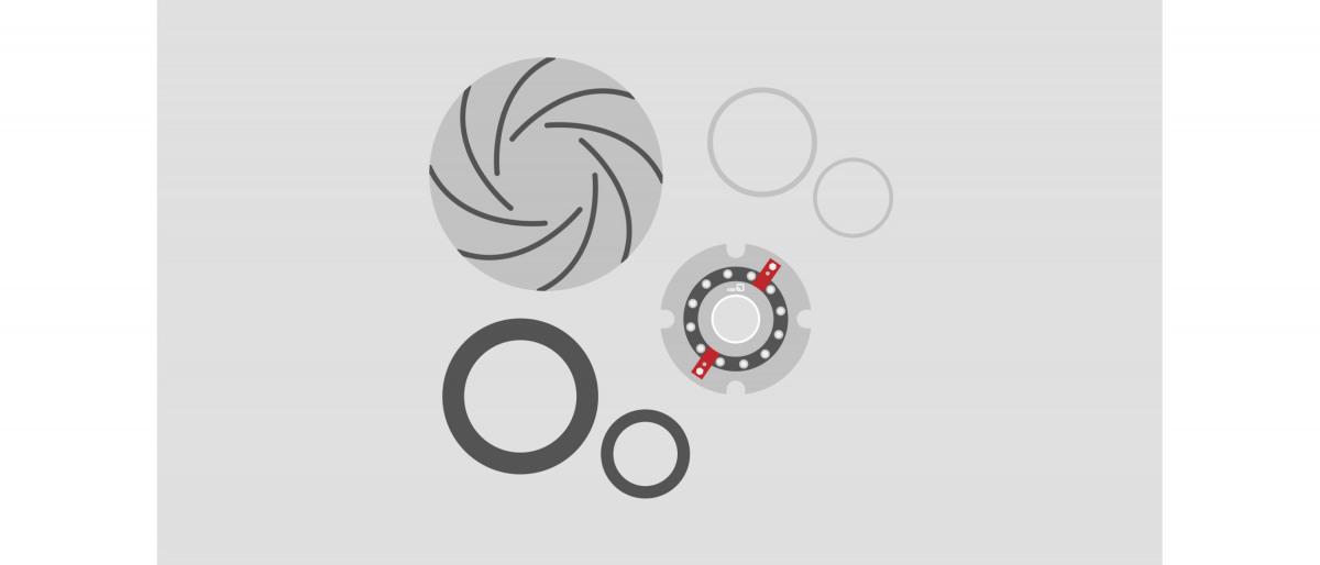 Ersatzteilkits für Pumpen und Armaturen