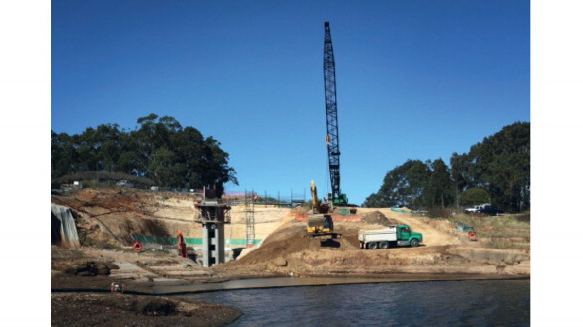 KSB lieferte RDLO-Pumpen für das Projekt Mardi-Staudamm.