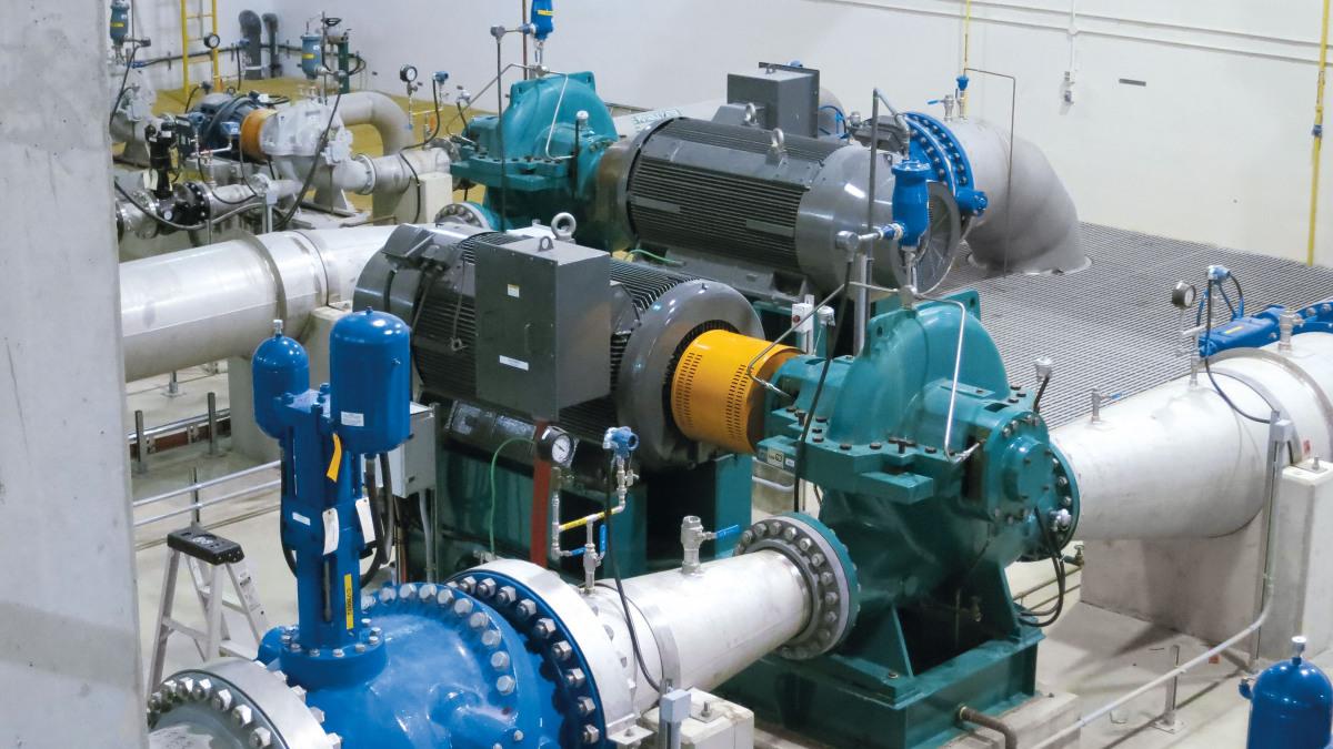 Einstufige RDLO-Pumpen mit längsgeteiltem Spiralgehäuse