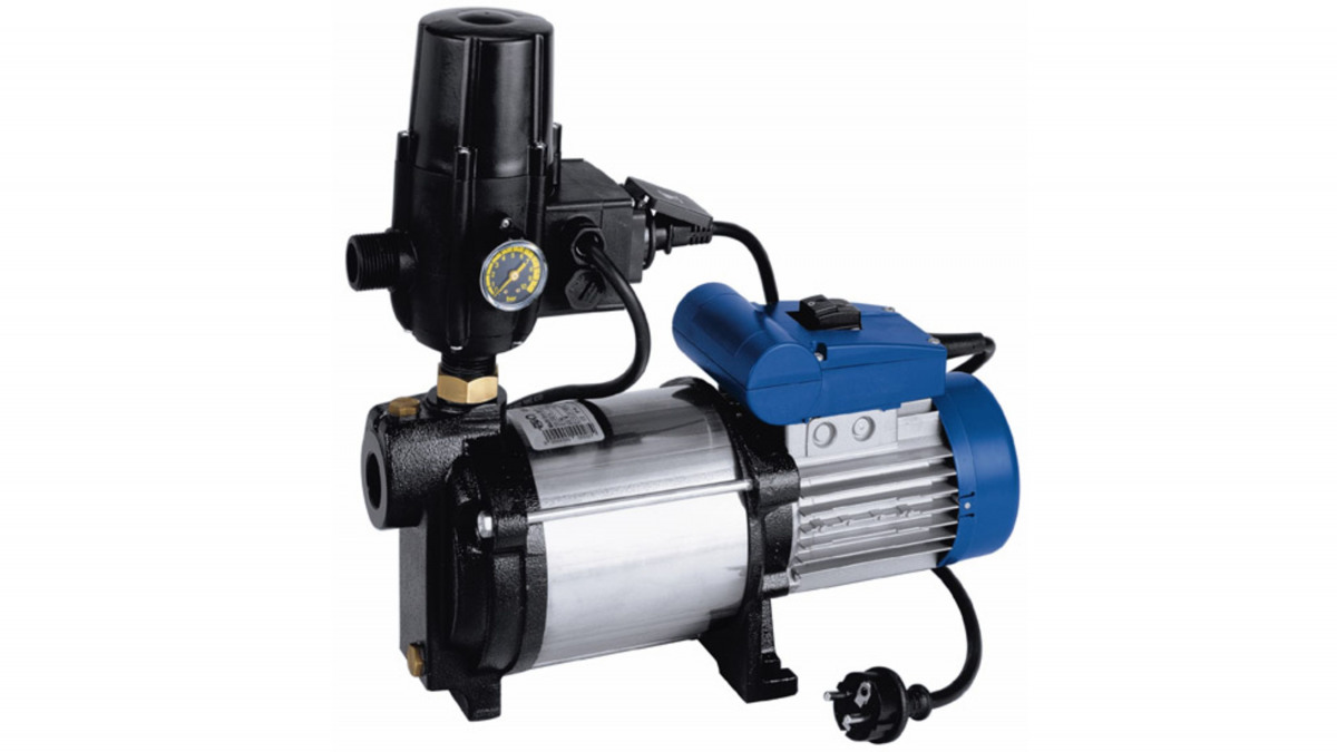 KSB Multi Eco-Pro – Hauswasserwerk mit Schaltautomat und Trockenlaufschutz