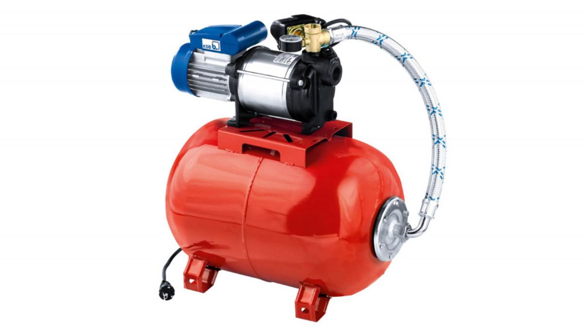 KSB Multi Eco-Top – Hauswasserwerk mit Membrandruckbehälter
