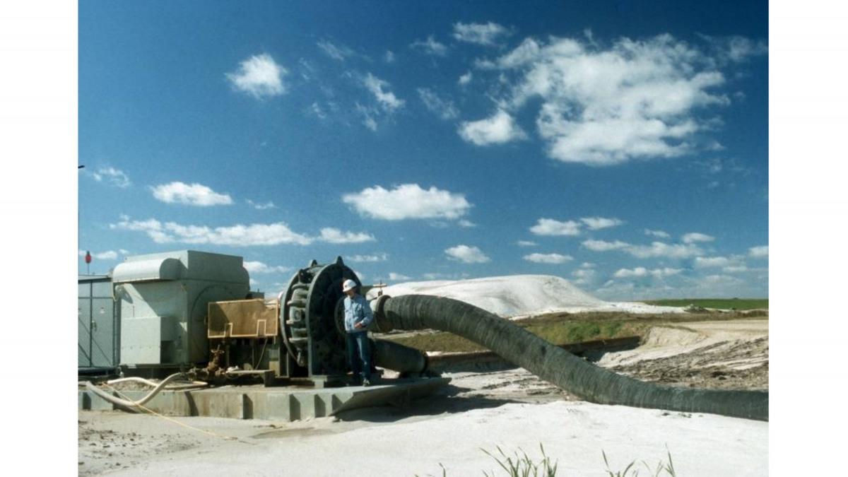 Pumpen für Feststoffe kommen im Bergbau zum Einsatz.