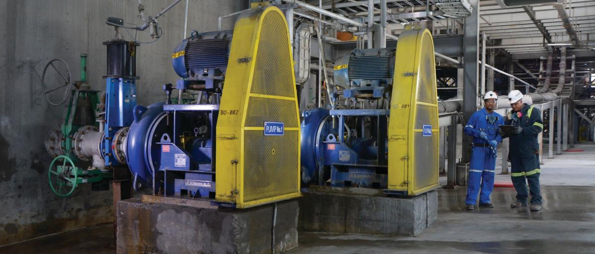 KSB-Feststoffpumpen bieten außergewöhnliche Betriebssicherheit.