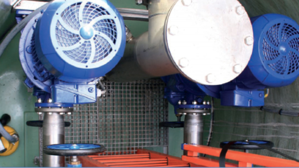 KSB SuPremE-IE4-Motoren in der Philharmonie de Paris