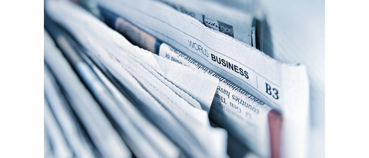 Verschiedene Zeitungen