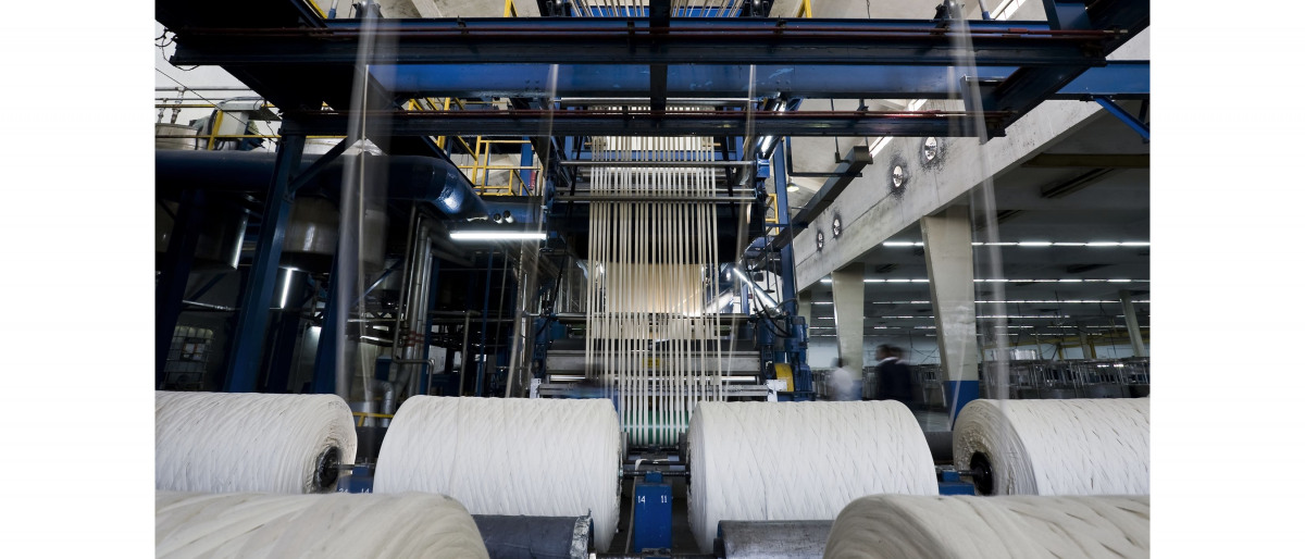 Plant for yarn production